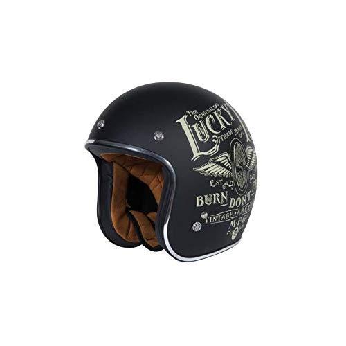 Nero/&M INBIKE Guanti da Moto Pretettivo Traspirante Resistente Pelle Sportivo Imbottiti 3D Gel Vintage
